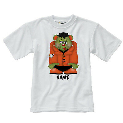 Personalised Children's T-Shirt - FrankieBear - Style 4