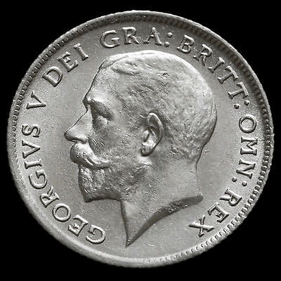 1921 George V Silver Sixpence – UNC