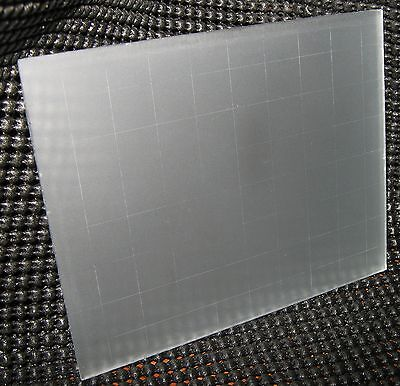 New Ground Glass Focusing Screen With Grid  for 4x5 Cameras