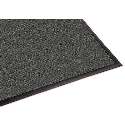WaterGuard Indoor/Outdoor Scraper Mat, 36 x 120, Charcoal
