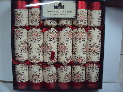Last Pack !! Downton Abbey : 6 Traditional English Christmas Crackers - New