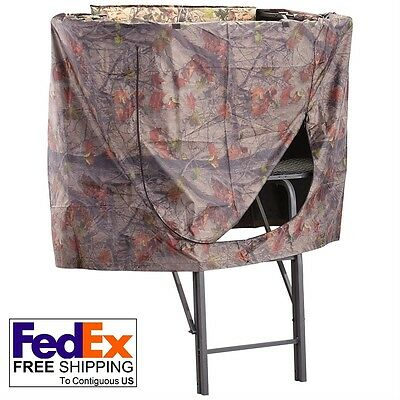 Universal Hunting Tree Stand Blind Cover Treestand Climbing Shooting Tripod New
