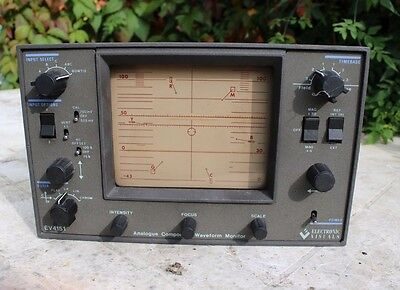 Electronic Visuals EV-4151 Analogue Component Waveform Monitor,Test Equipment