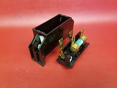 Fpe Federal Pacific Electric 301 30Amp Fuse Block & Pullout Fuse Holder