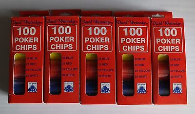 500 Poker Chips David Westnedge Interlocking Poker Chips. Great Christmas Gift