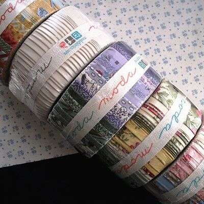 "MODA Jelly Roll 2½"" x 44"" Strips of Fabrics CLEARANCE"