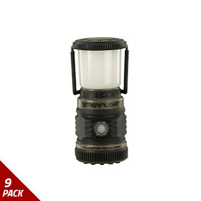 Streamlight Siege AA Lantern w/Five Output Modes, Coyote [9 Pack]