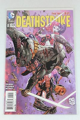 DC Comics The New 52 Deathstroke #5 Regular Cover First Printing