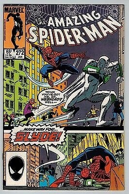 Amazing Spider-Man #272 1986 (C6196) 1st Appearance of Slyde 1st Series