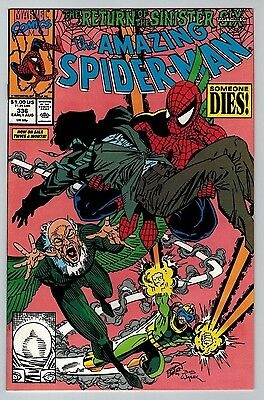 The Amazing Spider-Man #336 (Aug 1990, Marvel) (C6244) Sinister Six 1st Series