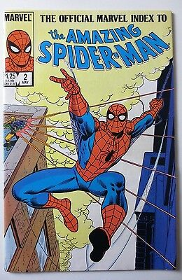The Official Marvel Index to the Amazing Spider-Man #2 (May 1985, Marvel) (C4507
