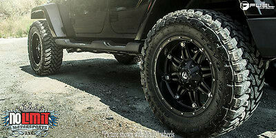 be10f20a6fa Fuel Hostage D531 20x10 Wheels 5x127 Matte Black -24offset Jeep (Set of 5)