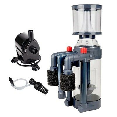 Aquatop Xyclone Protein Skimmer with Pump 370gph Up to 100gal