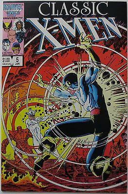 Classic X-Men #5 (Jan 1987, Marvel) (C1898)