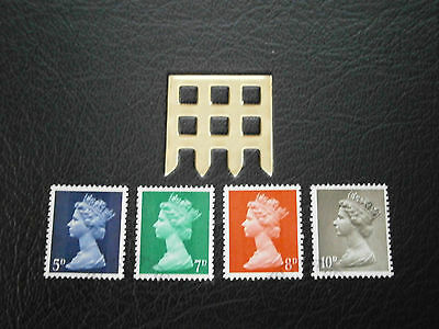 1968 Gb Stamps- 1St July  England-Definitives--Used