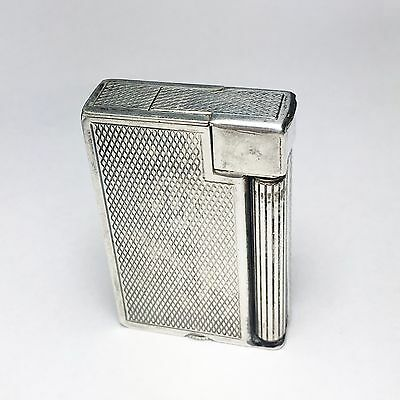 Engine Turned, Dunhill Handy Roller Lighter, 1950s, Great condition