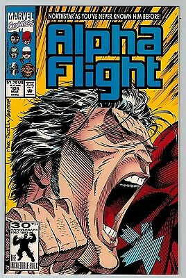 Alpha Flight #106 1992 (C6309) 2nd Print Northstar Comes Out Gay LGBT