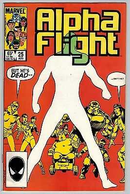 Alpha Flight #25 (Aug 1985, Marvel) (C5935) John Byrne Art