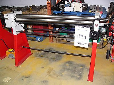 Manual bending rolls 1250mm x 2mm