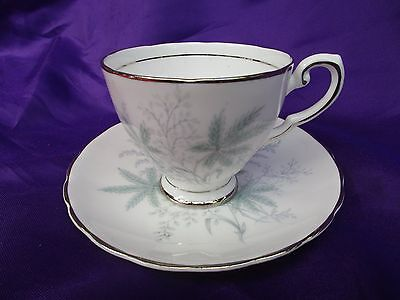 Vintage Royal Tuscan China Coffee Cup and saucer Ferndale f 259