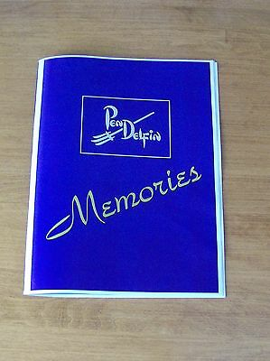 SPECIAL BOOKLET IS FROM PENDELFIN FAMILY CIRCLE called MEMORIES