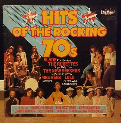 Hits Of The Rocking 70's 12 Track Vinyl LP Pickwick/Contour..
