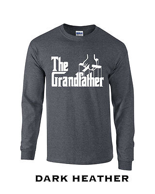 396 The Grandfather Long Sleeve college funny grandparent grandpa fathers golf