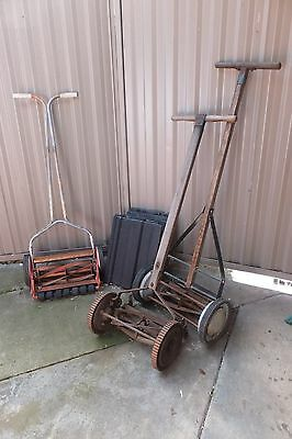 Vintage Push Lawn Mowers - Reduced price