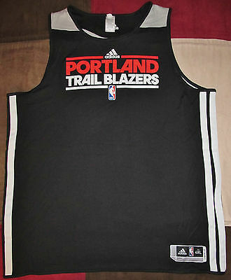 Portland Trail Blazers Issued Warmup/Practice Jersey