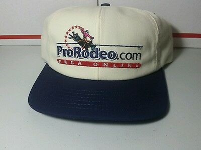 Vtg PRCA  Professional Rodeo Cowboys Association Snapback Hat/Cap