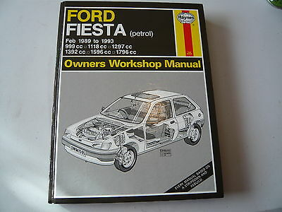 Haynes Ford Fiesta Workshop manual Good Condition