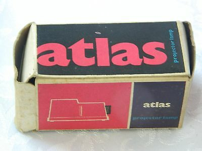 Atlas 8 Mm Movie Projector Light Bulb England