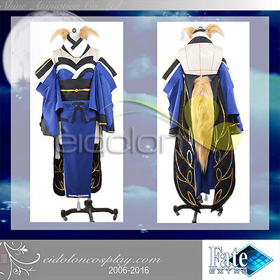 EE0038AO Fate/Extra CCC Tamamonomae/Caster Cosplay Costume