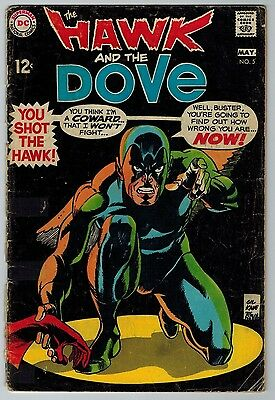 The Hawk and the Dove #5 1969 (C5988) DC Comics Silver Age