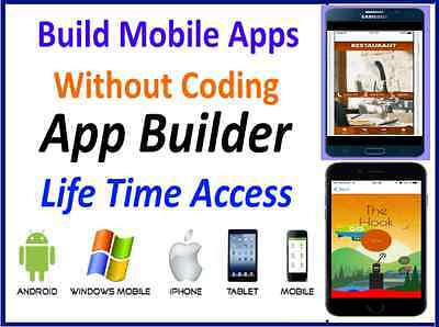 Mobile APP Design Software without coding | Make APP, games for Android , Iphone