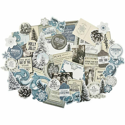 Frosted Collectables Die Cut Shapes Kaisercraft 50+ Piece Pack