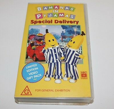 Bananas In Pyjamas Special Delivery Vhs ABC Video 1994