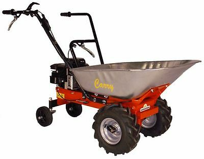 CARRY Motor Wheelbarrow Dumper wheelbarrow Mini Dumper, B&S Motor, 3,5 PS