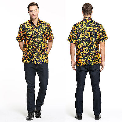 2e149bace1 NEW Fear and Loathing in Las Vegas Raoul Duke Costume Shirt Cosplay Man (S-