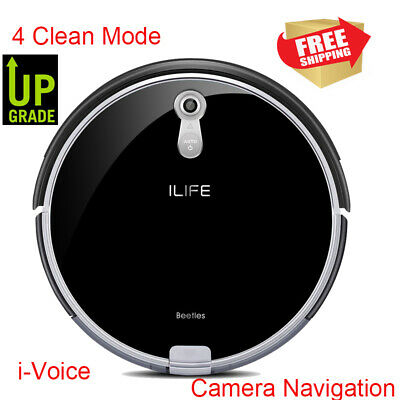ILIFE V7s Plus Smart Robotic Vacuum&Mop Cleaner Remote Control Floor Cleaning