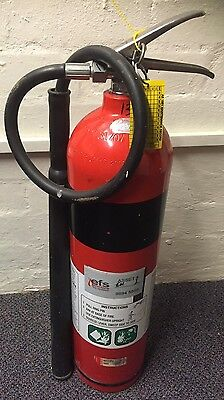 5KG CO2 Fire Extinguisher Compliance Plate 2015-2022