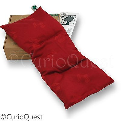 The Original Cherry Stone 20-Inch Jumbo Pillow Microwavable Heat Pack Cushion