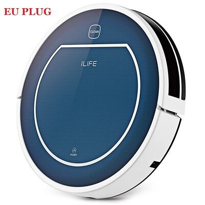 ILIFE V7 Bluetooth Smart Robotic Vacuum Cleaner Floor Sweeper Sapphire Blue