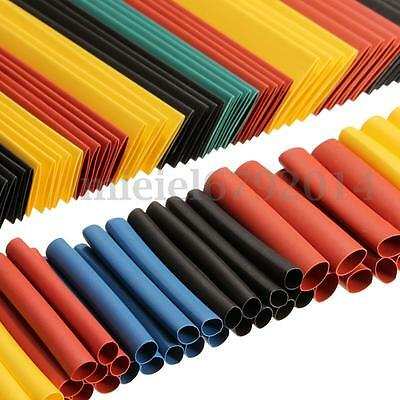 260Pcs Assortment Heat Shrink Sleeve Electrical Cable Tube Tubing Wrap Wire Set