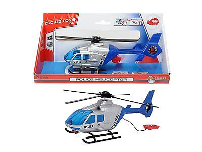 Dickie Toys Police Helicopter Polizeihelikopter Helikopter Quadrocopter Spielzeu