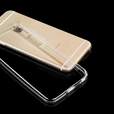 Transparent Case Cover For Iphone 6 Tpu Bumper Sticker Protector Free Warranty