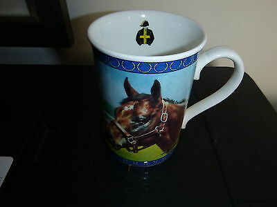 Danbury Mint Racing Legends By Graham Ison Cup  - Mill Reef