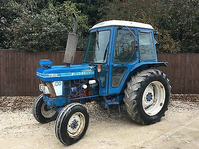 Ford 7610 2 Wheel Drive Tractor