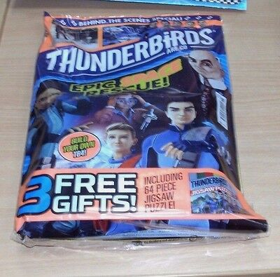 ThunderBirds Are Go comic magazine #15 Behind the Scenes Special + Jigsaw