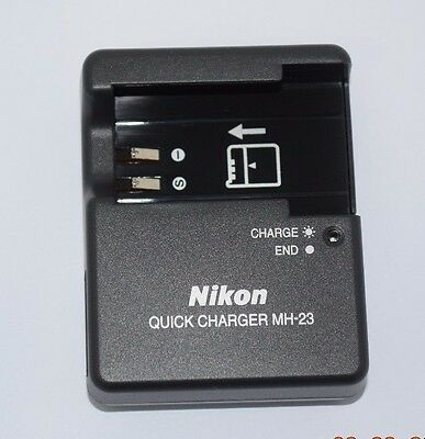 Genuine NIKON Quick Charger MH-23